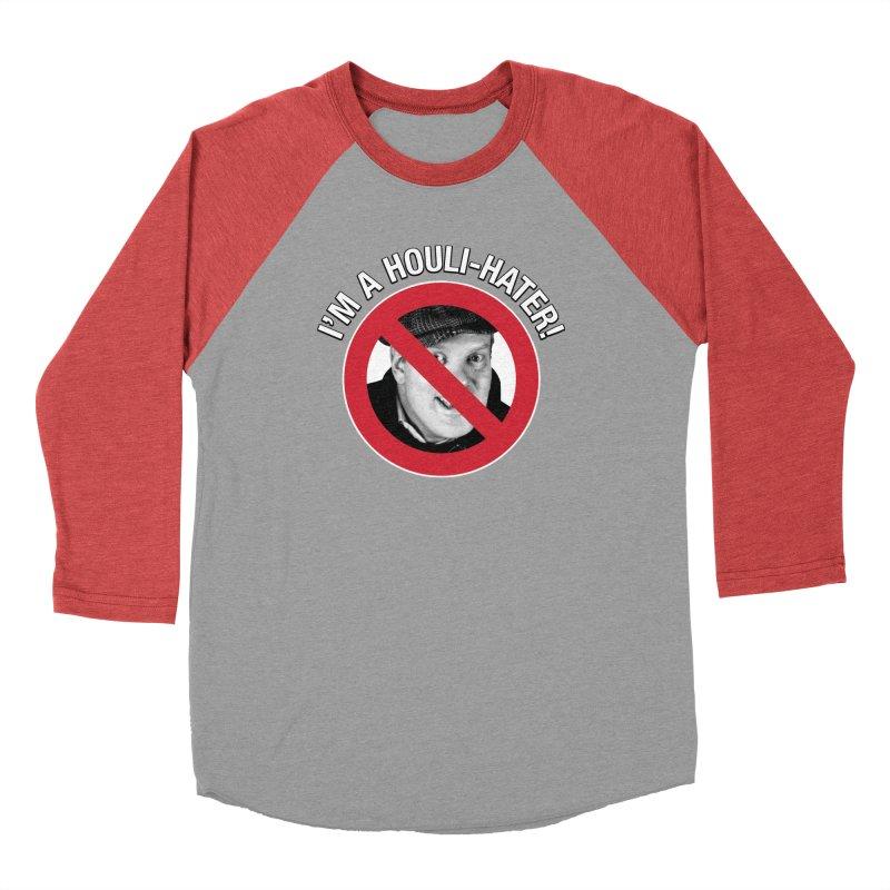 Houli Hater Men's Baseball Triblend Longsleeve T-Shirt by Brian Harms