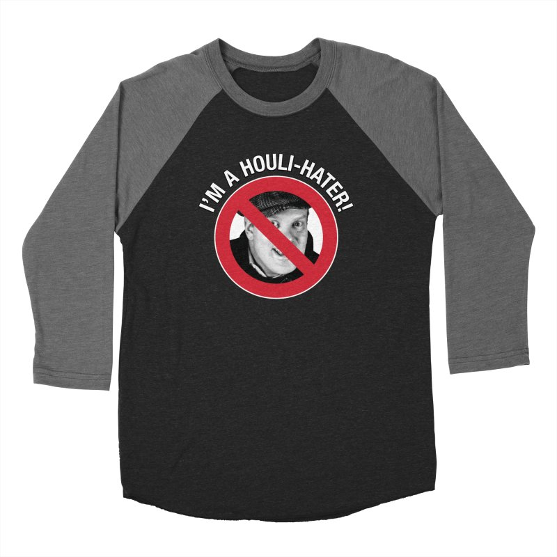 Houli Hater Men's Baseball Triblend Longsleeve T-Shirt by Brian Harms