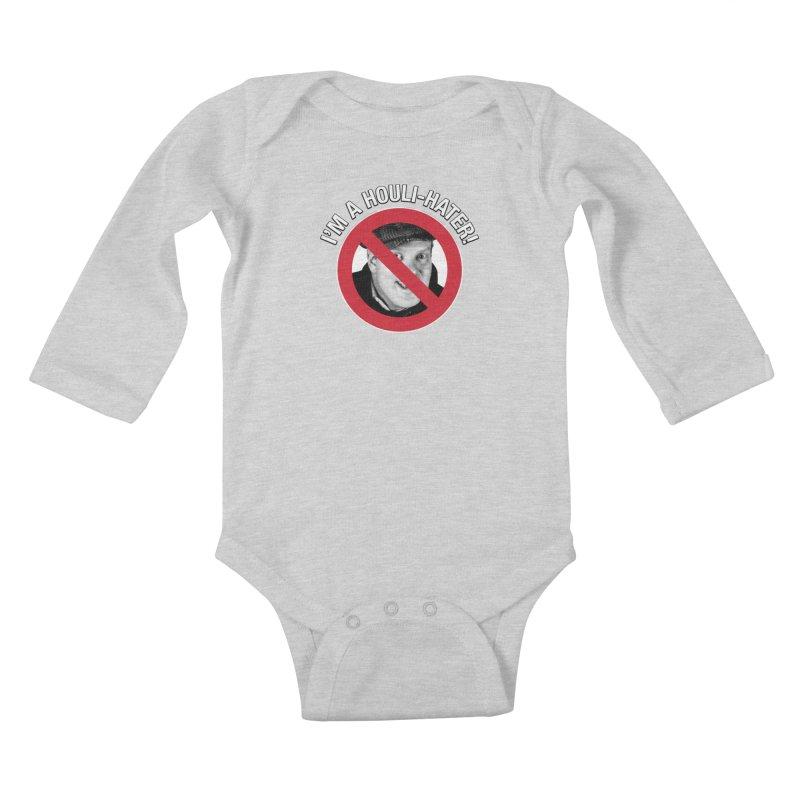 Houli Hater Kids Baby Longsleeve Bodysuit by Brian Harms