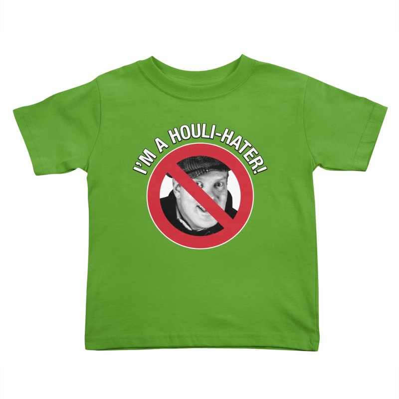 Houli Hater Kids Toddler T-Shirt by Brian Harms