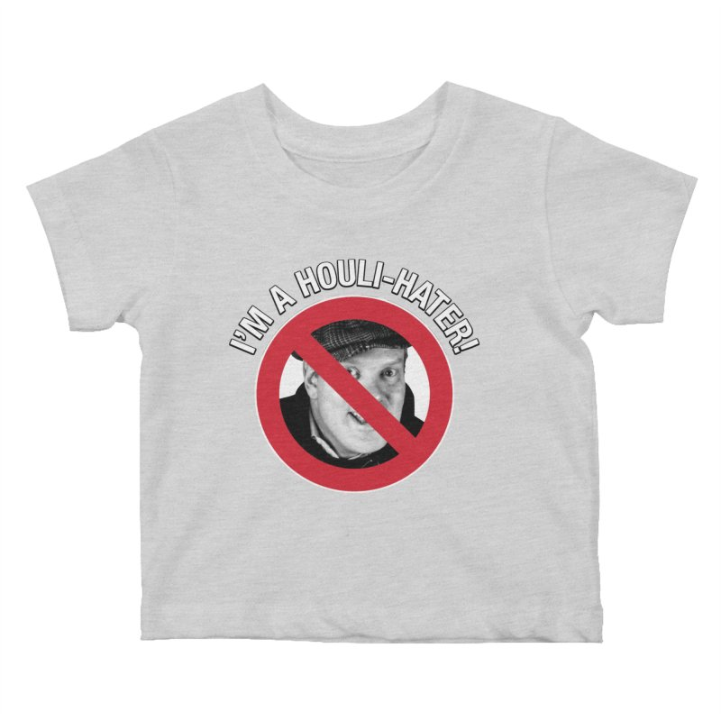 Houli Hater Kids Baby T-Shirt by Brian Harms