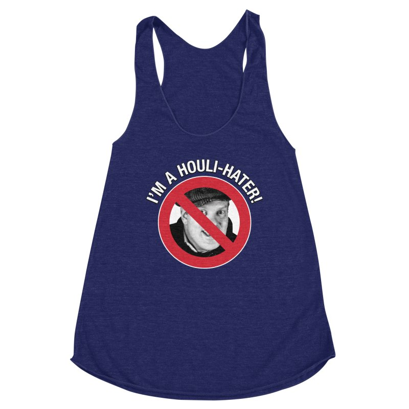 Houli Hater Women's Racerback Triblend Tank by Brian Harms