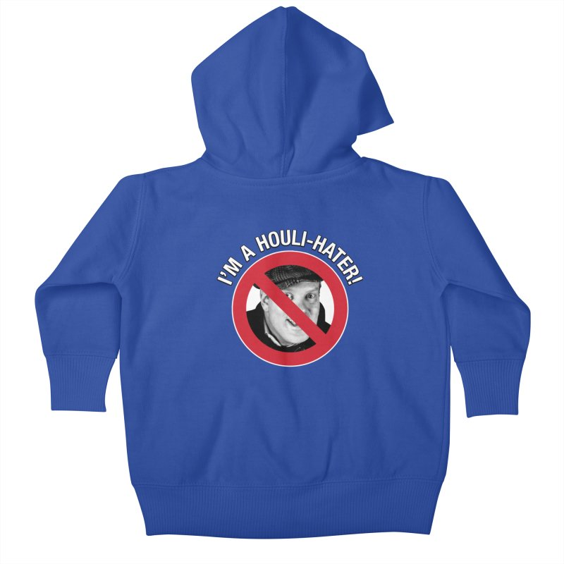 Houli Hater Kids Baby Zip-Up Hoody by Brian Harms