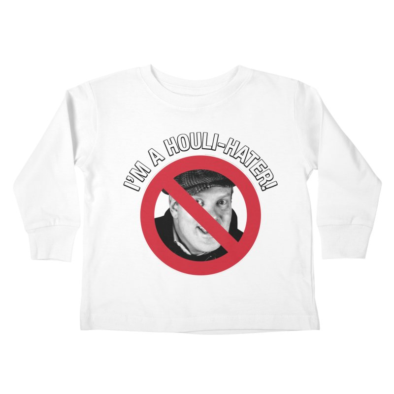Houli Hater Kids Toddler Longsleeve T-Shirt by Brian Harms