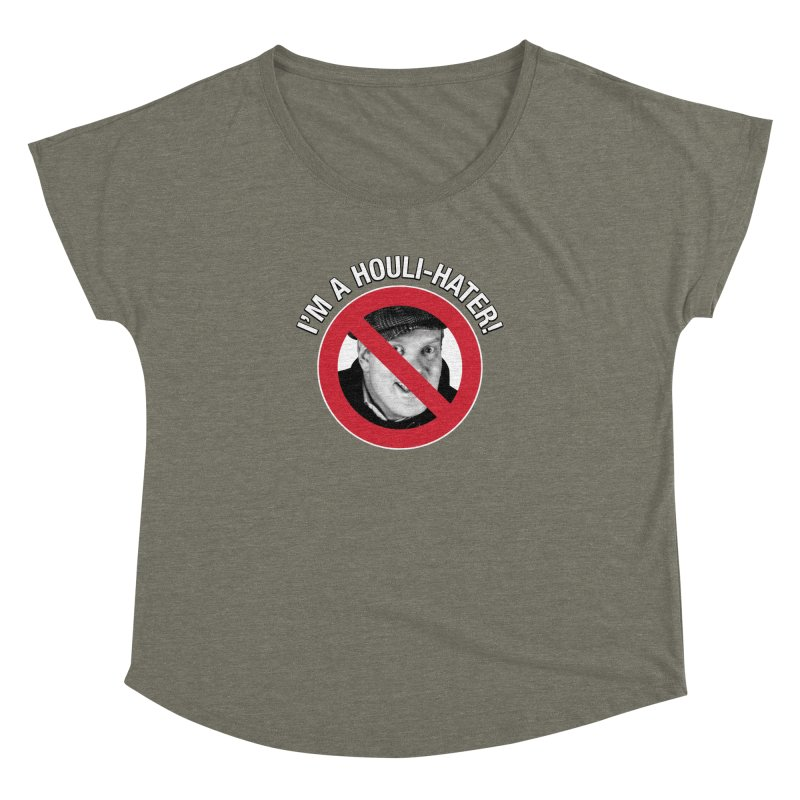 Houli Hater Women's Dolman Scoop Neck by Brian Harms