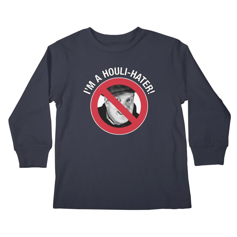 Houli Hater Kids Longsleeve T-Shirt by Brian Harms