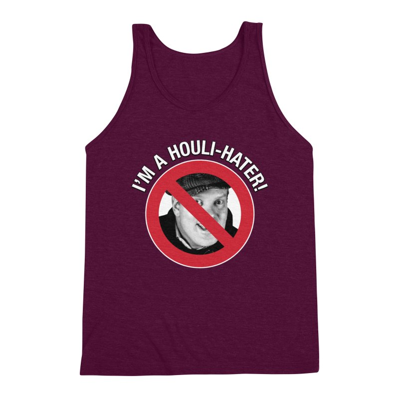 Houli Hater Men's Triblend Tank by Brian Harms