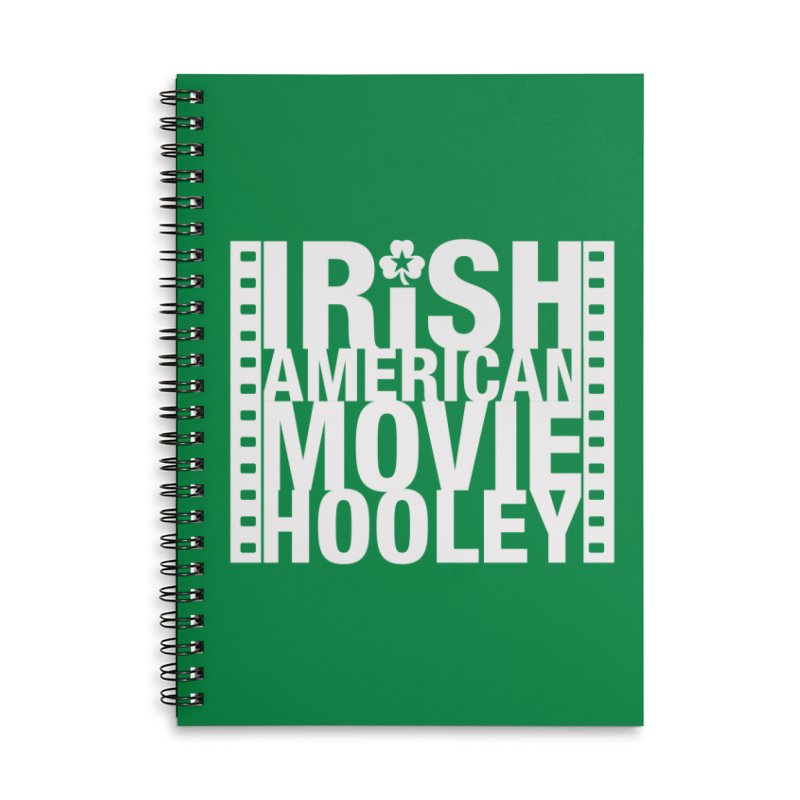 Irish American Movie Hooley Accessories Notebook by Brian Harms