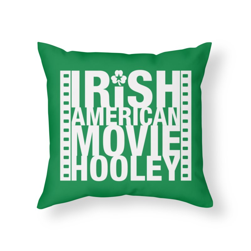 Irish American Movie Hooley Home Throw Pillow by Brian Harms
