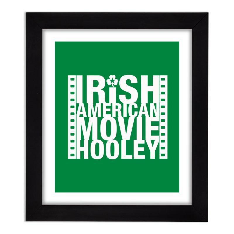 Irish American Movie Hooley Home Framed Fine Art Print by Brian Harms