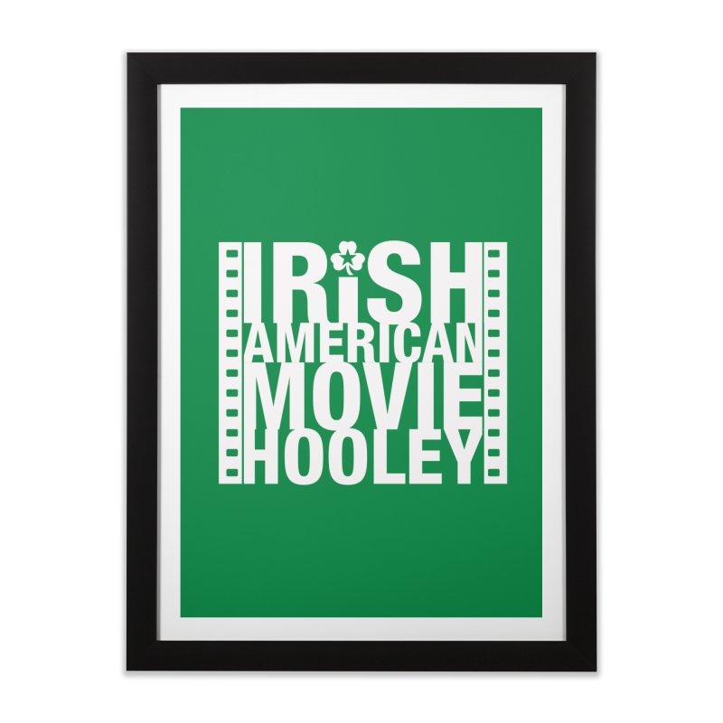 Irish American Movie Hooley Home Framed Fine Art Print by Brian Harms