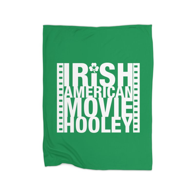 Irish American Movie Hooley Home Fleece Blanket Blanket by Brian Harms