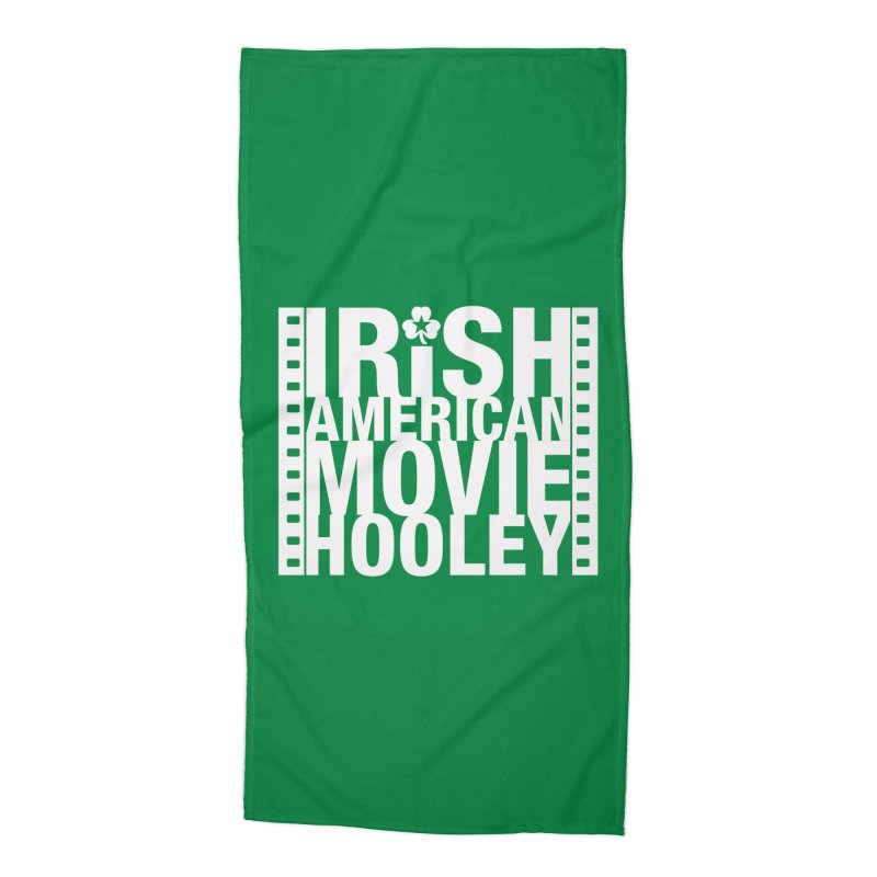 Irish American Movie Hooley Accessories Beach Towel by Brian Harms