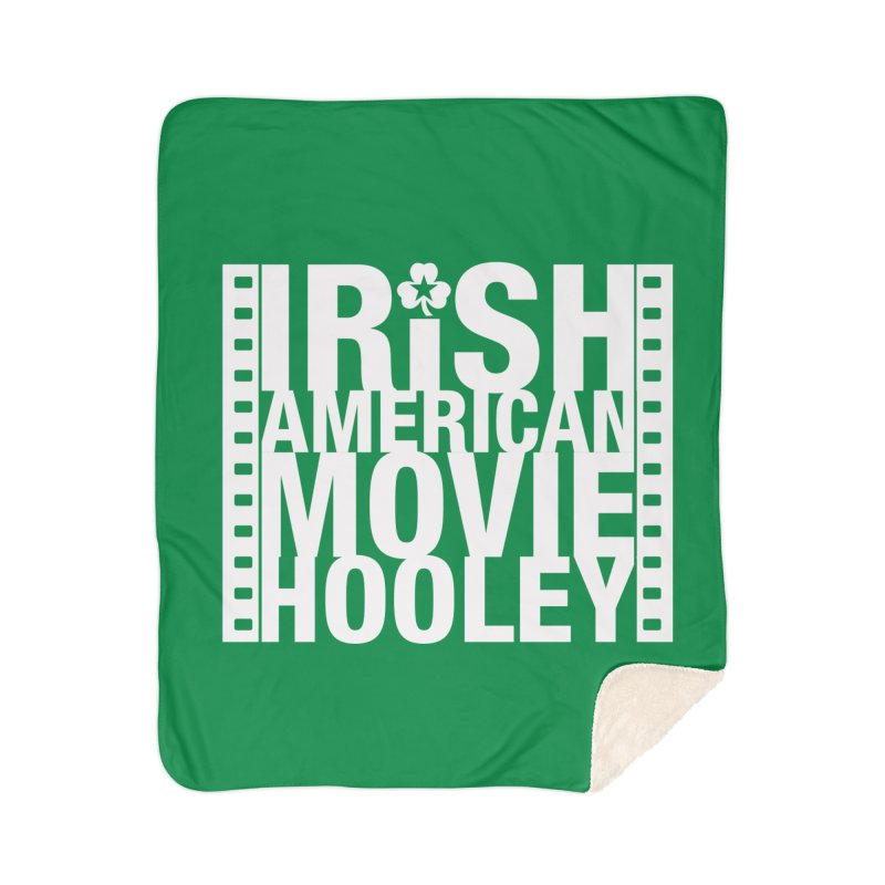 Irish American Movie Hooley Home Sherpa Blanket Blanket by Brian Harms