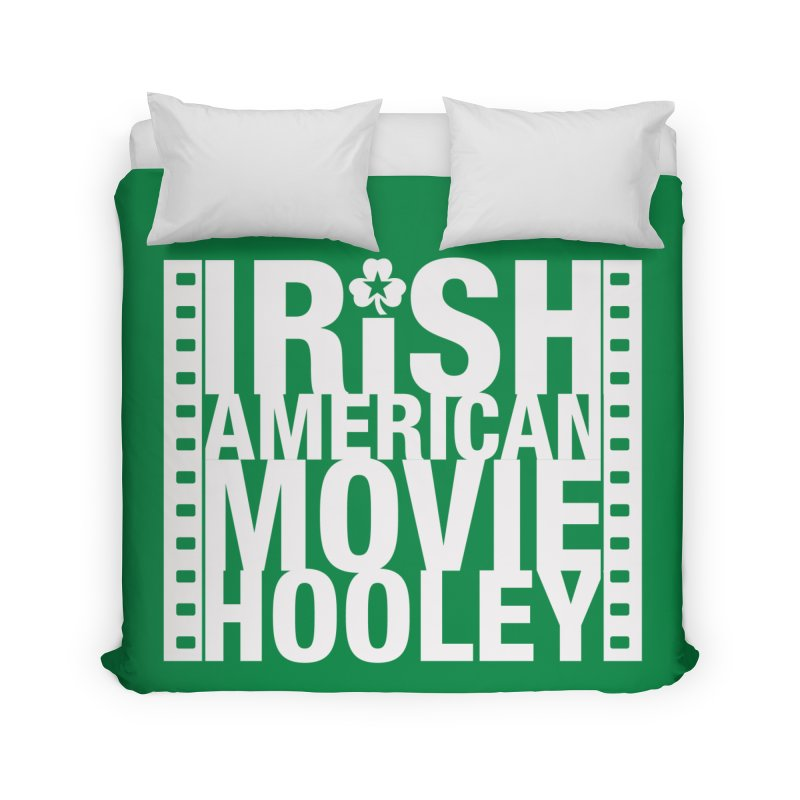 Irish American Movie Hooley Home Duvet by Brian Harms