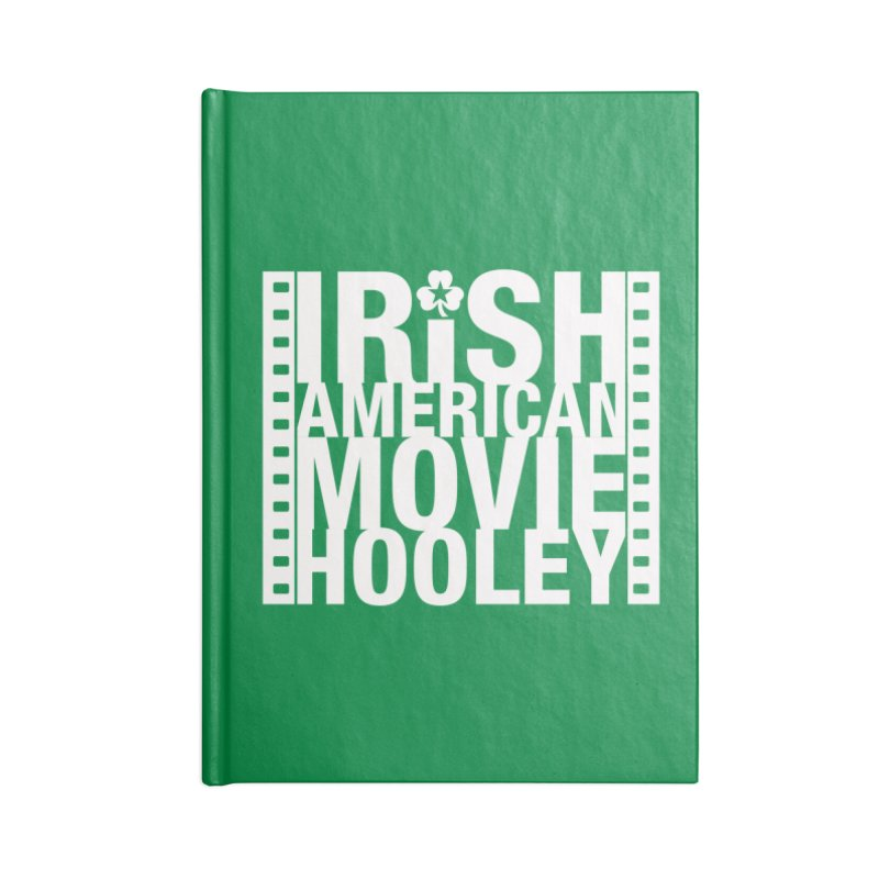 Irish American Movie Hooley Accessories Lined Journal Notebook by Brian Harms