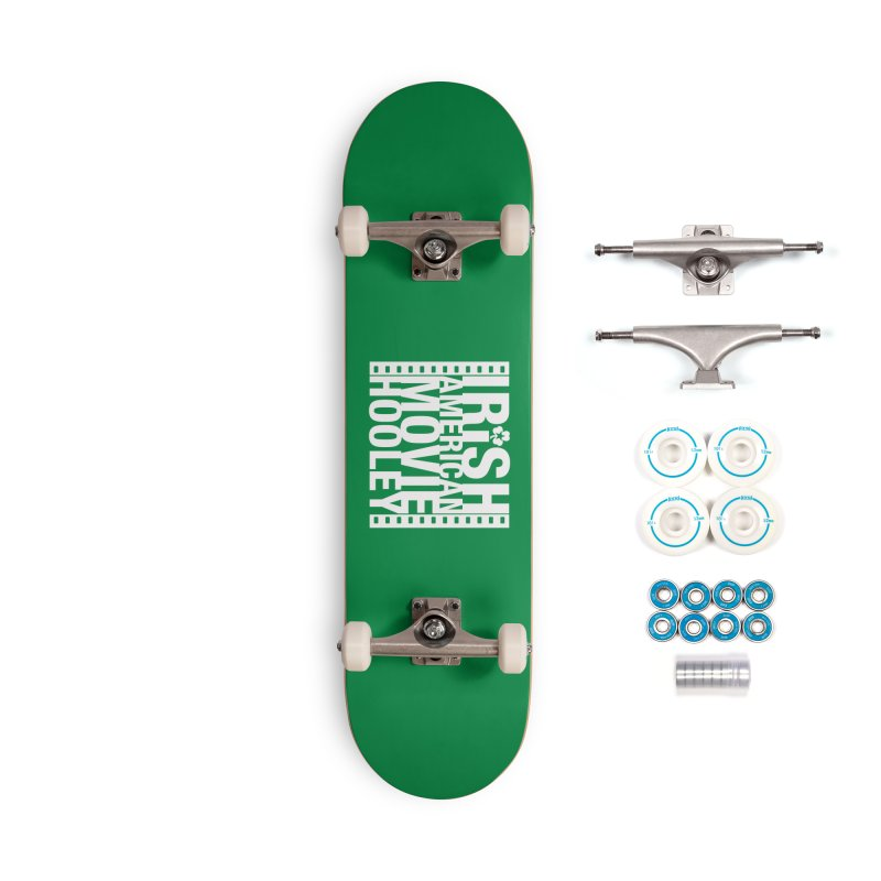 Irish American Movie Hooley Accessories Skateboard by Brian Harms