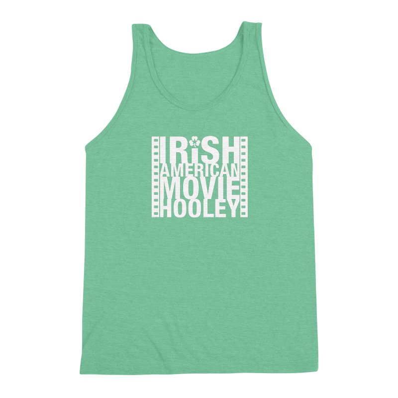 Irish American Movie Hooley Men's Triblend Tank by Brian Harms