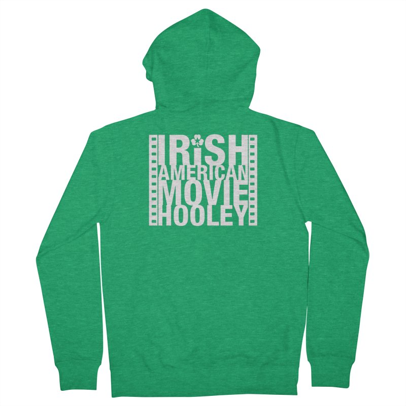 Irish American Movie Hooley Women's French Terry Zip-Up Hoody by Brian Harms