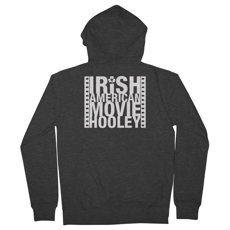 Irish American Movie Hooley Men's French Terry Zip-Up Hoody by Brian Harms