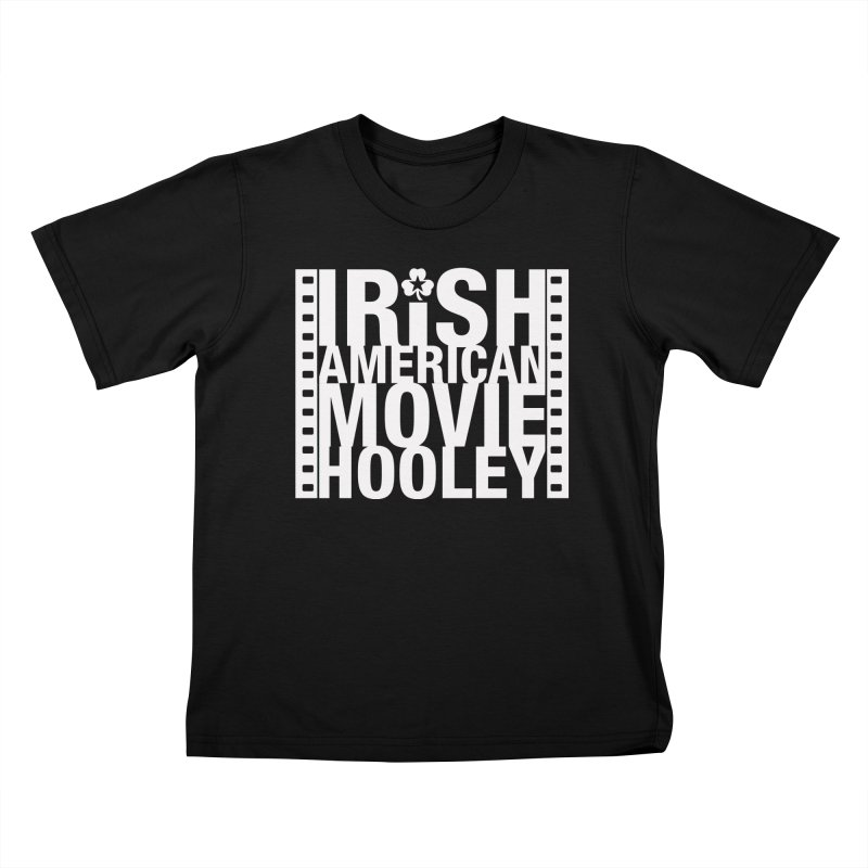 Irish American Movie Hooley Kids T-Shirt by Brian Harms