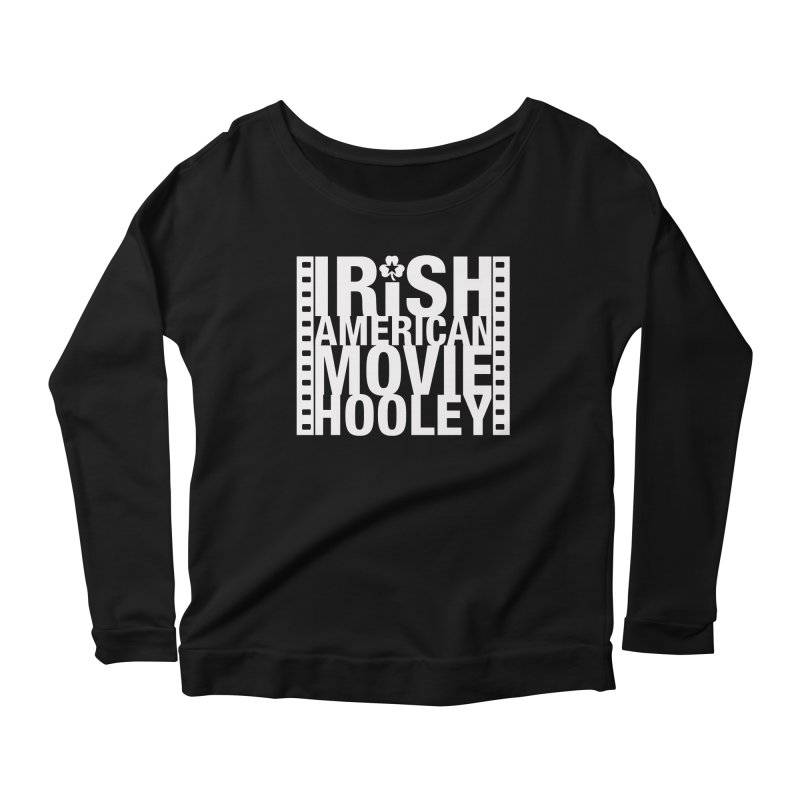 Irish American Movie Hooley Women's Scoop Neck Longsleeve T-Shirt by Brian Harms
