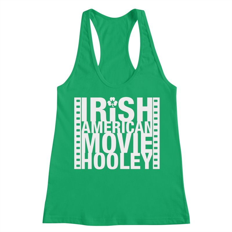 Irish American Movie Hooley Women's Racerback Tank by Brian Harms