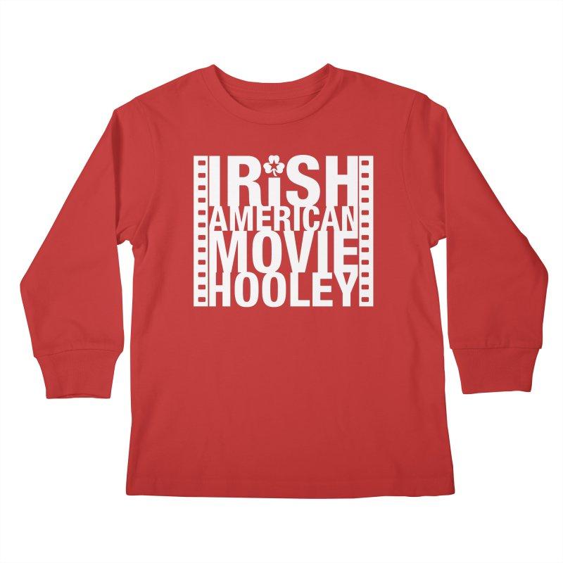 Irish American Movie Hooley Kids Longsleeve T-Shirt by Brian Harms