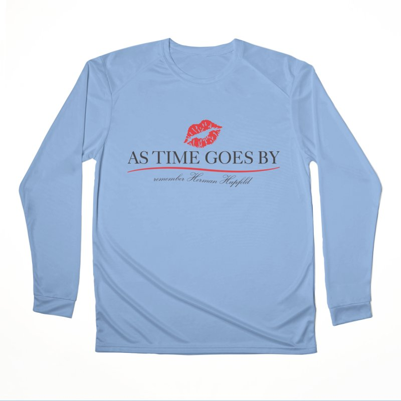 As Time Goes By Men's Performance Longsleeve T-Shirt by Brian Harms