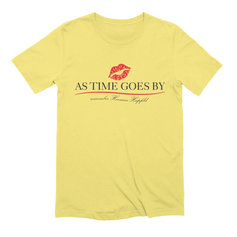 As Time Goes By Men's Extra Soft T-Shirt by Brian Harms