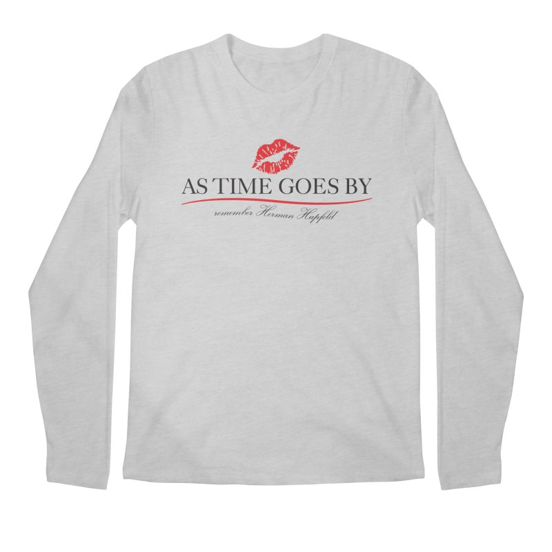As Time Goes By Men's Regular Longsleeve T-Shirt by Brian Harms