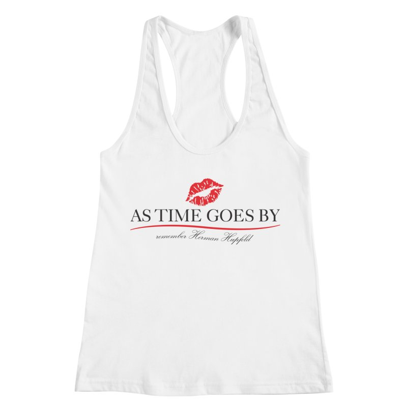 As Time Goes By Women's Racerback Tank by Brian Harms