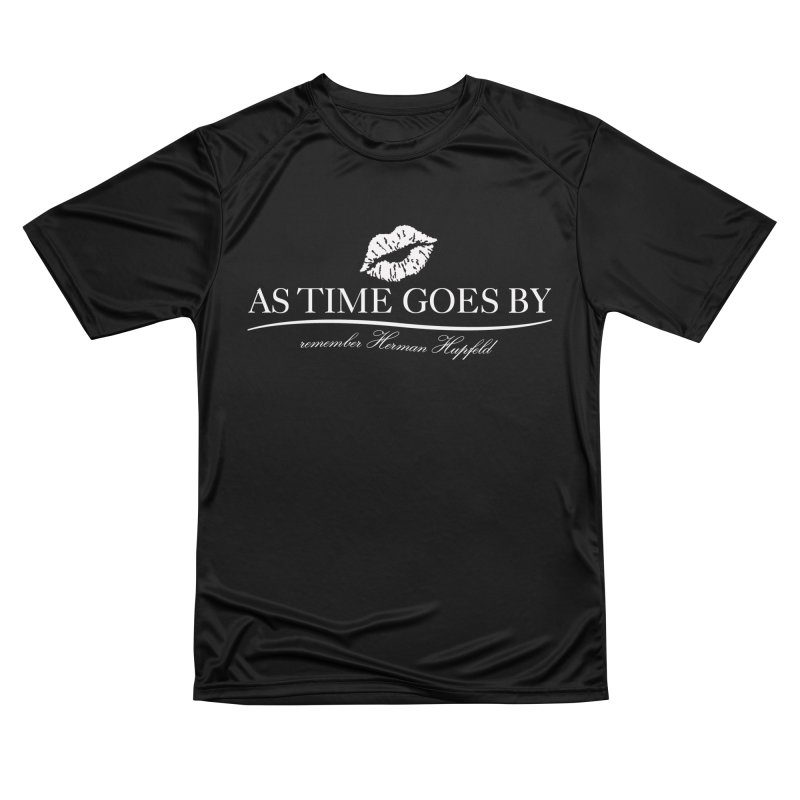 As Time Goes By (white) Men's Performance T-Shirt by Brian Harms