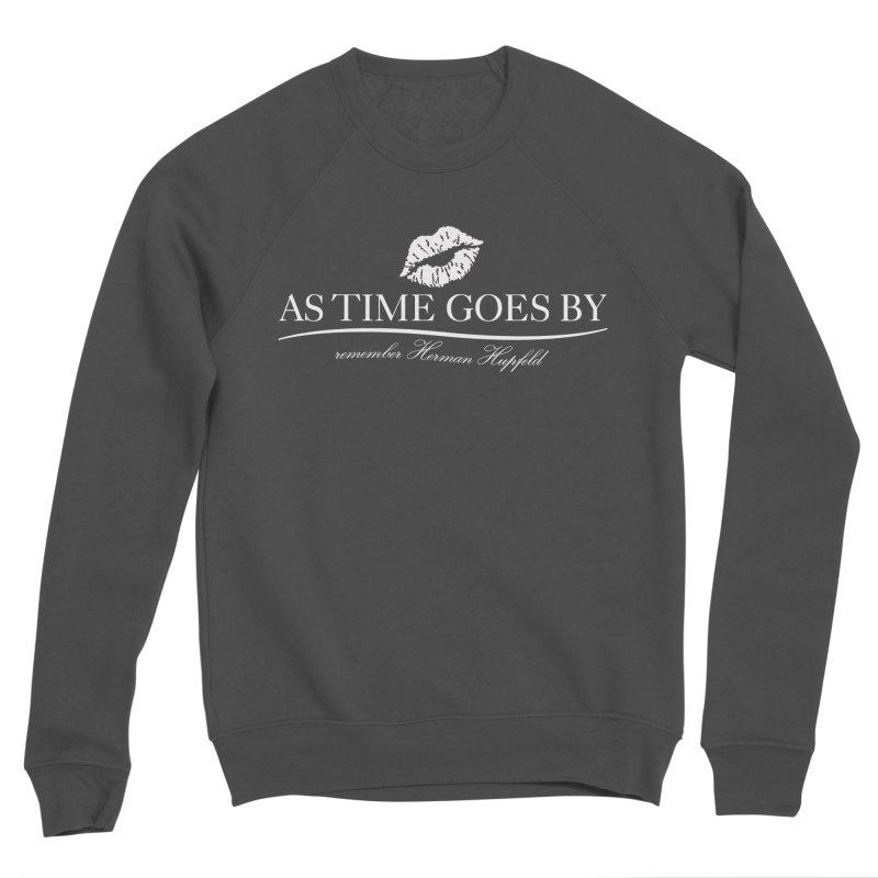As Time Goes By (white) Men's Sponge Fleece Sweatshirt by Brian Harms