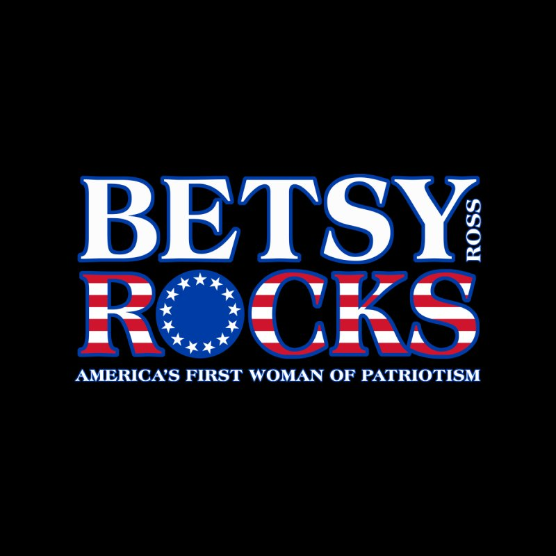 Betsy Ross Rocks Men's Pullover Hoody by Brian Harms