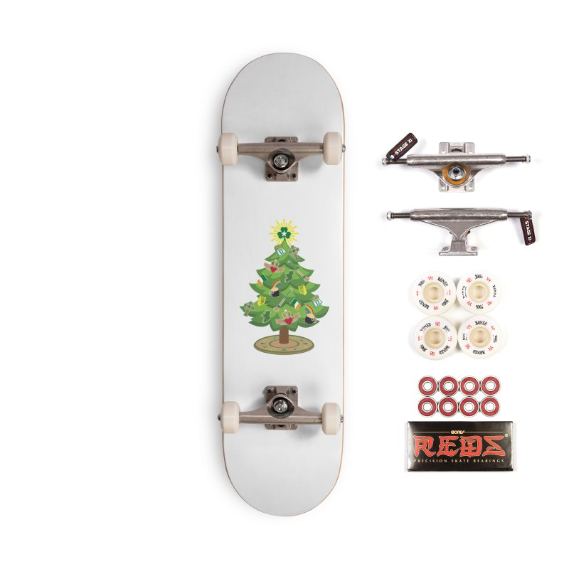Irish Christmas Tree Accessories Complete - Pro Skateboard by Brian Harms