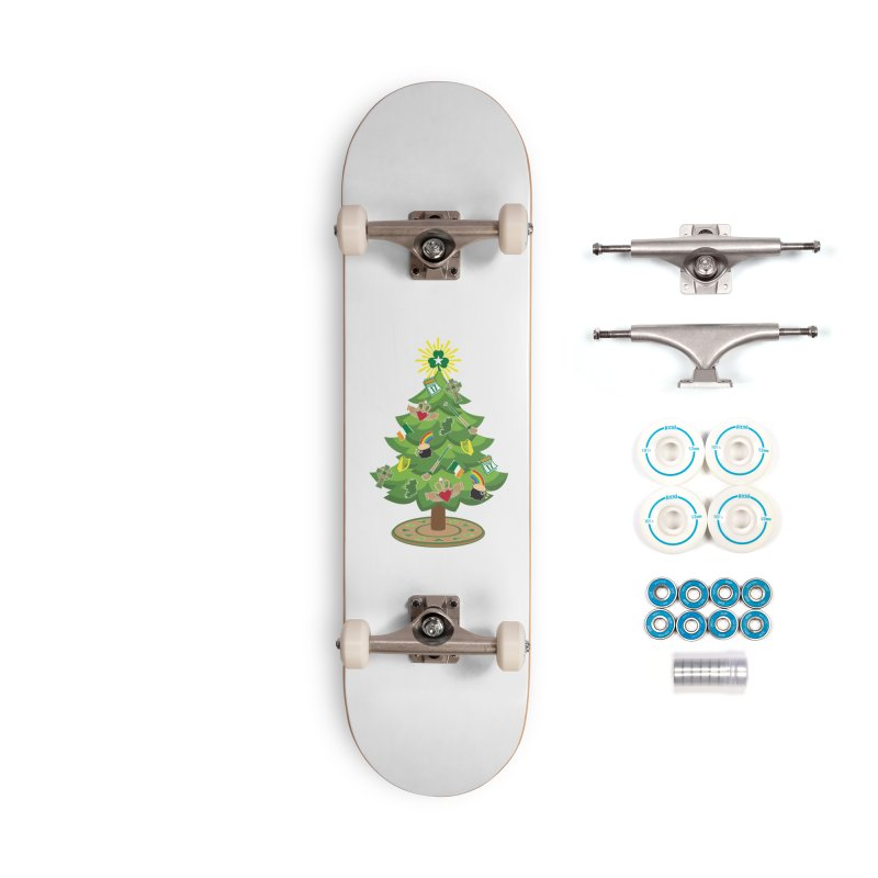 Irish Christmas Tree Accessories Complete - Basic Skateboard by Brian Harms