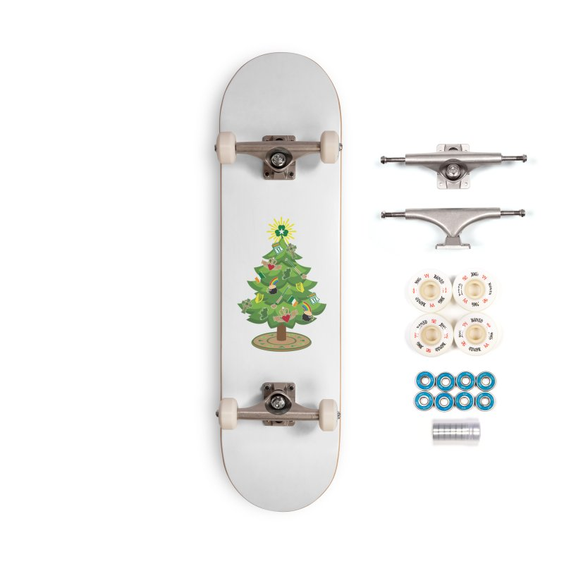 Irish Christmas Tree Accessories Complete - Premium Skateboard by Brian Harms