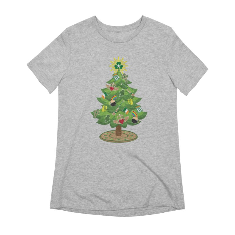 Irish Christmas Tree Women's Extra Soft T-Shirt by Brian Harms