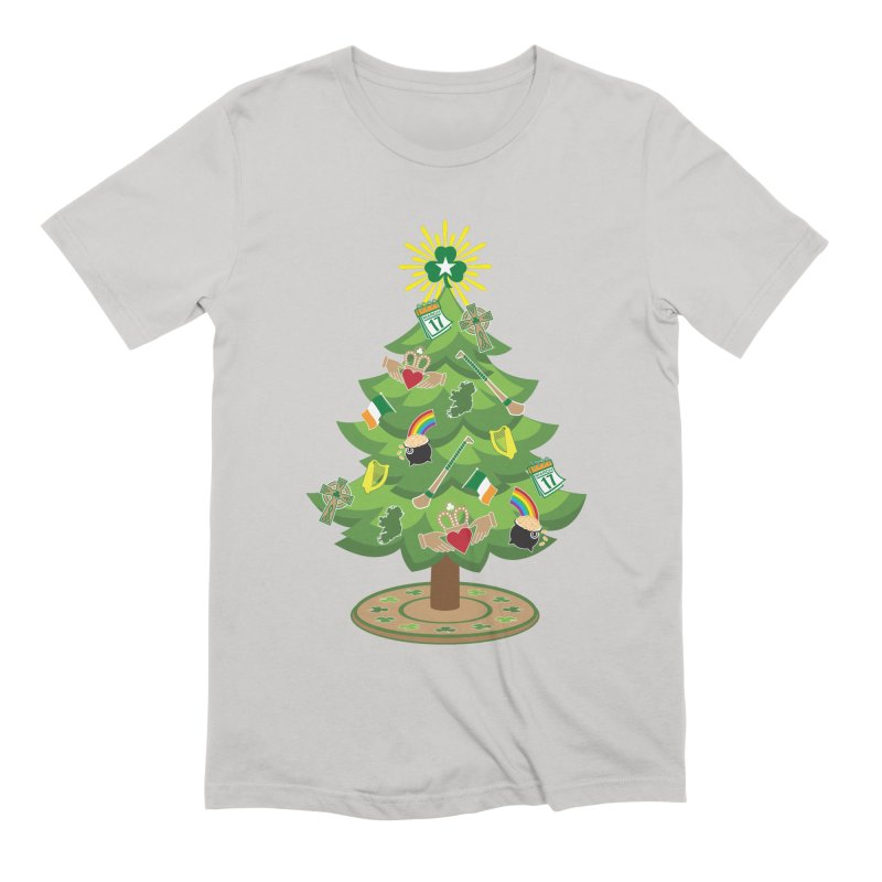 Irish Christmas Tree Men's Extra Soft T-Shirt by Brian Harms