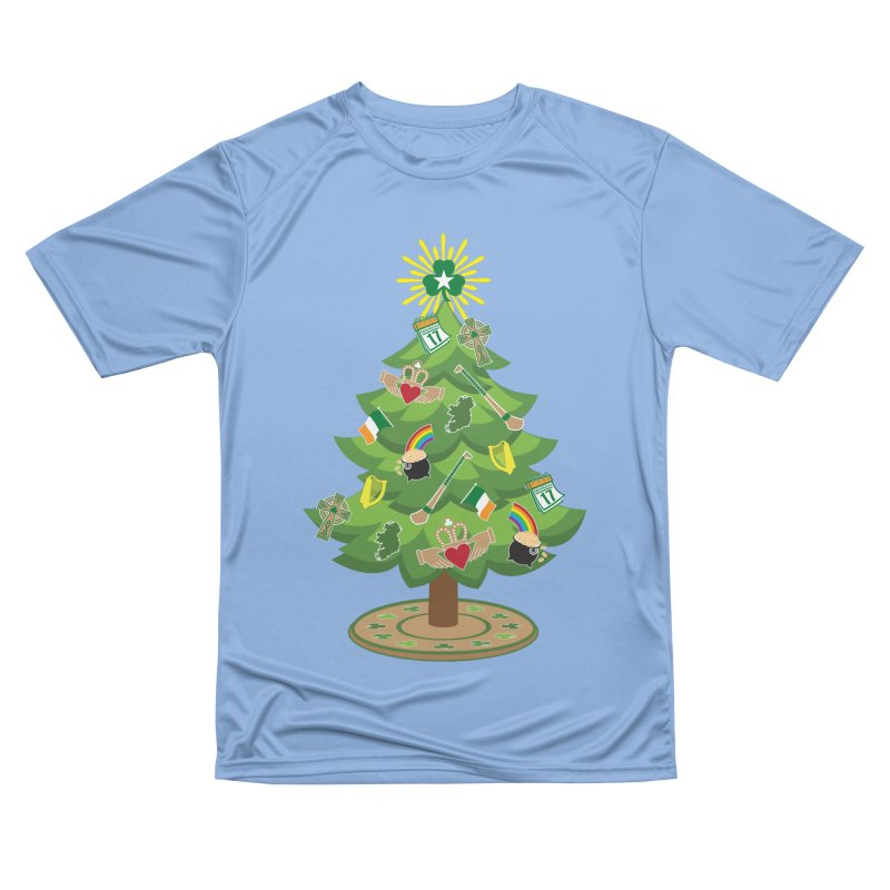 Irish Christmas Tree Men's T-Shirt by Brian Harms