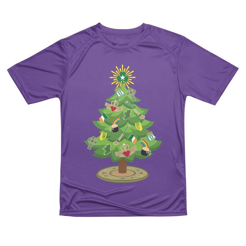 Irish Christmas Tree Women's Performance Unisex T-Shirt by Brian Harms