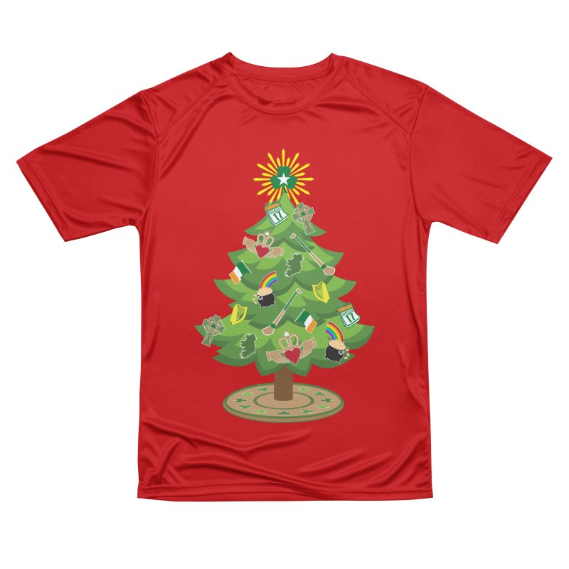 Irish Christmas Tree Men's Performance T-Shirt by Brian Harms