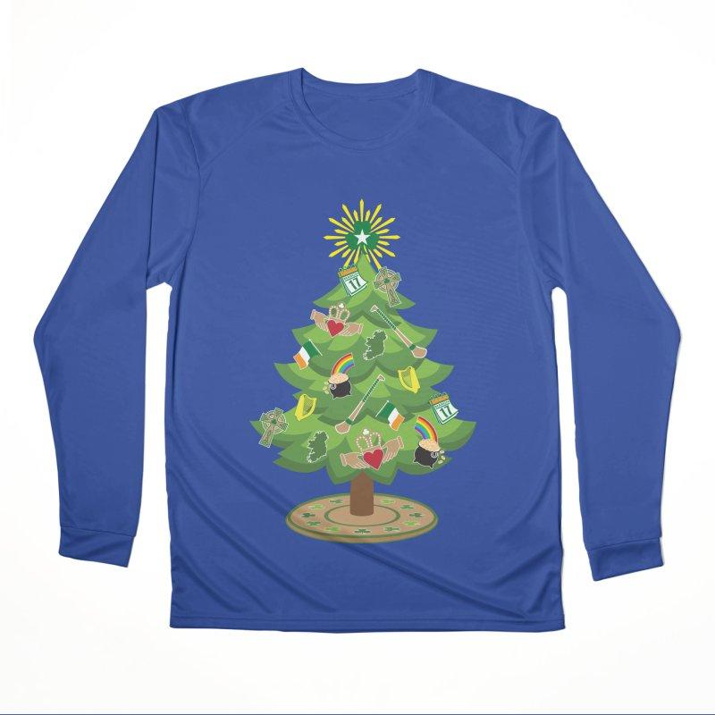Irish Christmas Tree Women's Performance Unisex Longsleeve T-Shirt by Brian Harms