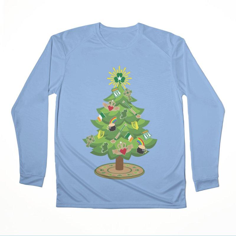 Irish Christmas Tree Women's Longsleeve T-Shirt by Brian Harms