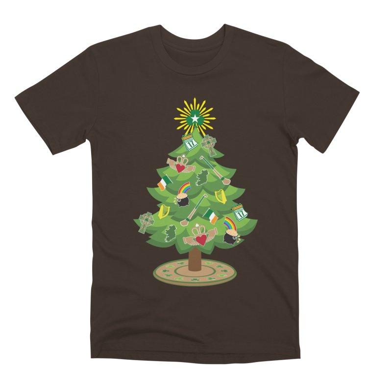 Irish Christmas Tree Men's Premium T-Shirt by Brian Harms