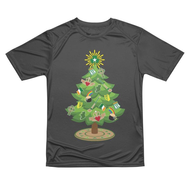 Irish Christmas Tree Men's Performance T-Shirt by Brian Harms