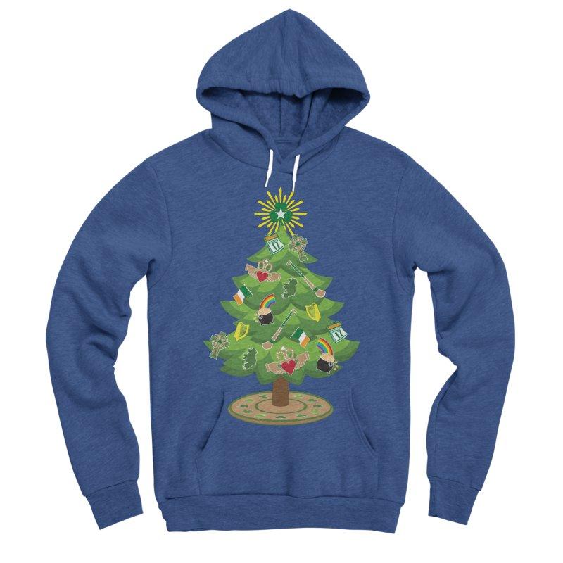 Irish Christmas Tree Women's Sponge Fleece Pullover Hoody by Brian Harms