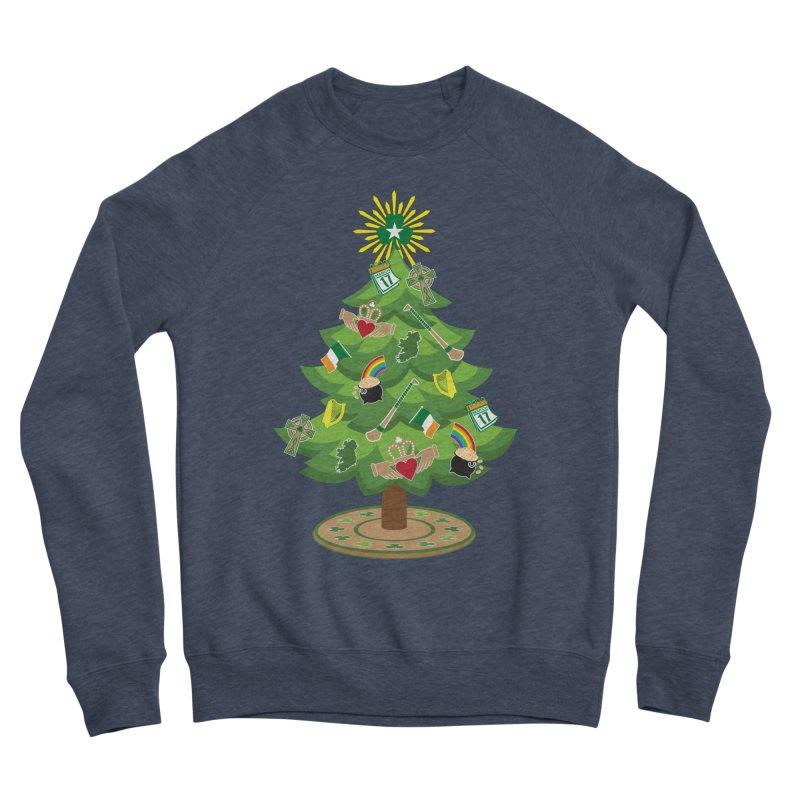 Irish Christmas Tree Women's Sponge Fleece Sweatshirt by Brian Harms