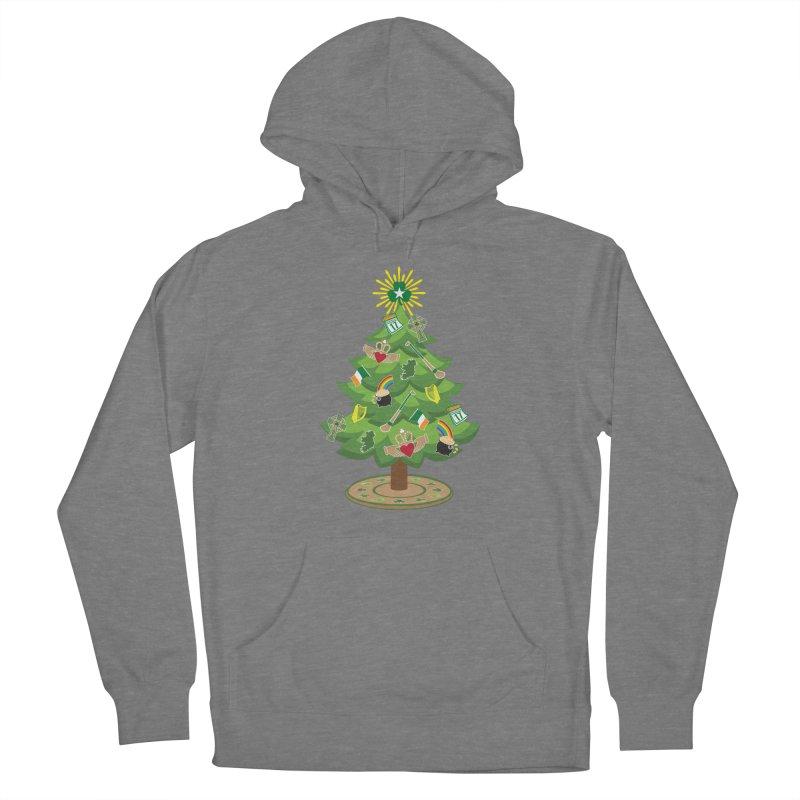 Irish Christmas Tree Women's Pullover Hoody by Brian Harms